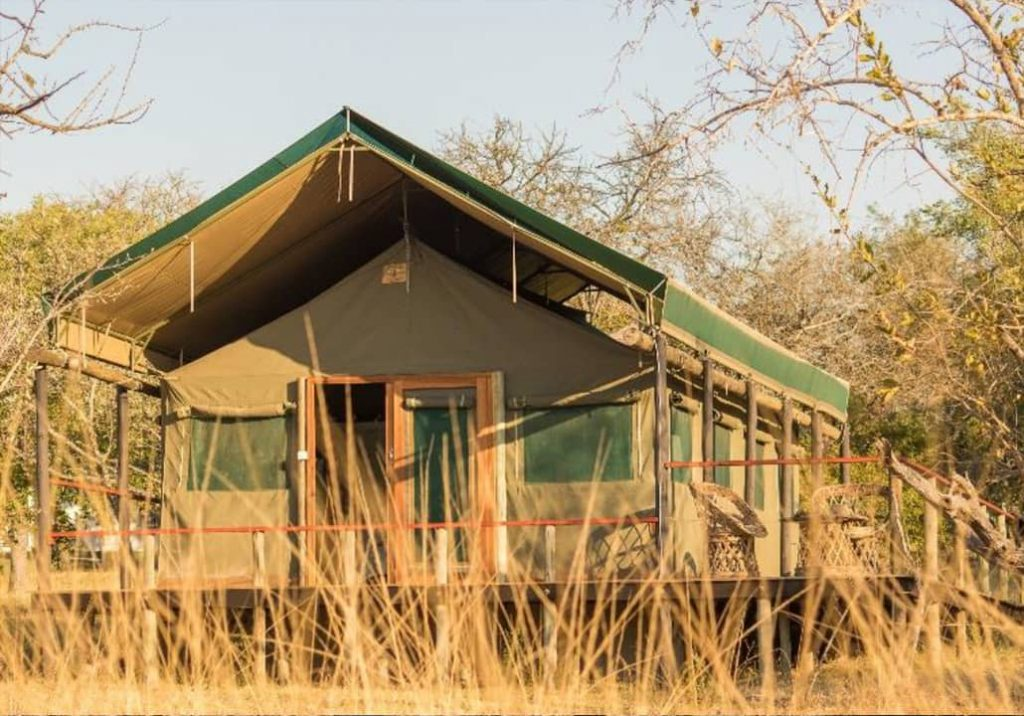 Luxury Glamping Tents - Front View